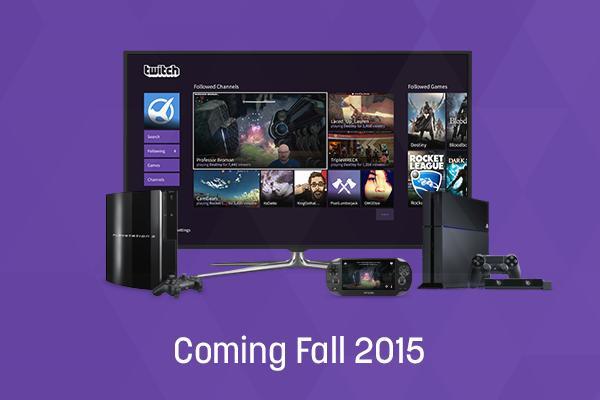 Έρχεται Twitch app στο PS4 και στις υπόλοιπες κονσόλες της Sony!
