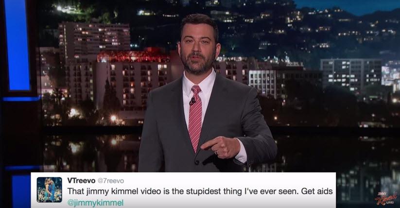 Jimmy Kimmel εναντίον gaming streamers!