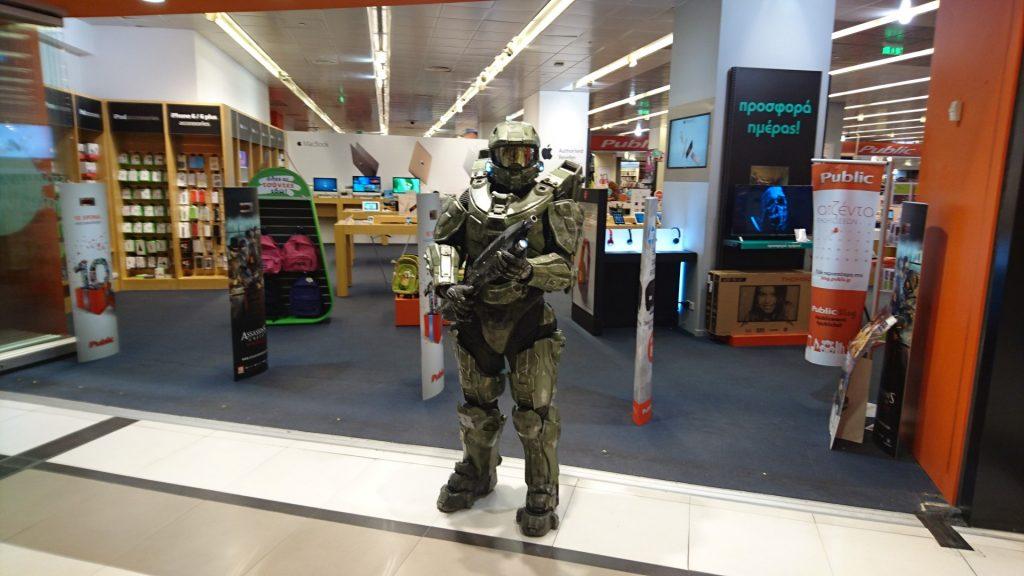 Halo 5 Guardians Greek Launch (6)
