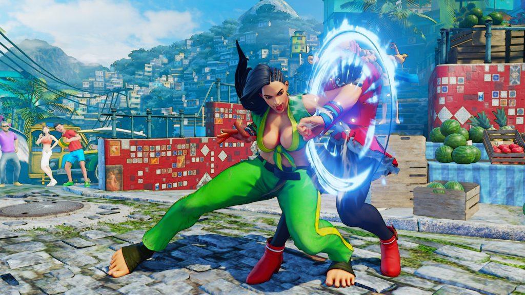 Laura Street Fighter V 2