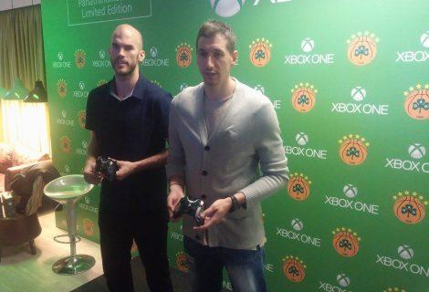Επίσημη παρουσίαση της συλλεκτικής κονσόλας Xbox One Panathinaikos BC NBA 2K16!