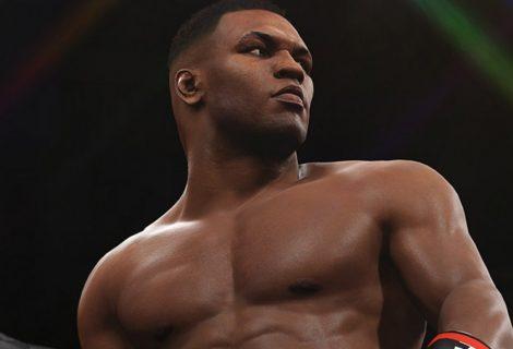 O Mike Tyson παίζει στο UFC 2