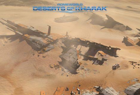 """Δύο νέα απίθανα trailers για το """"epic"""" Homeworld: Deserts of Kharak!"""