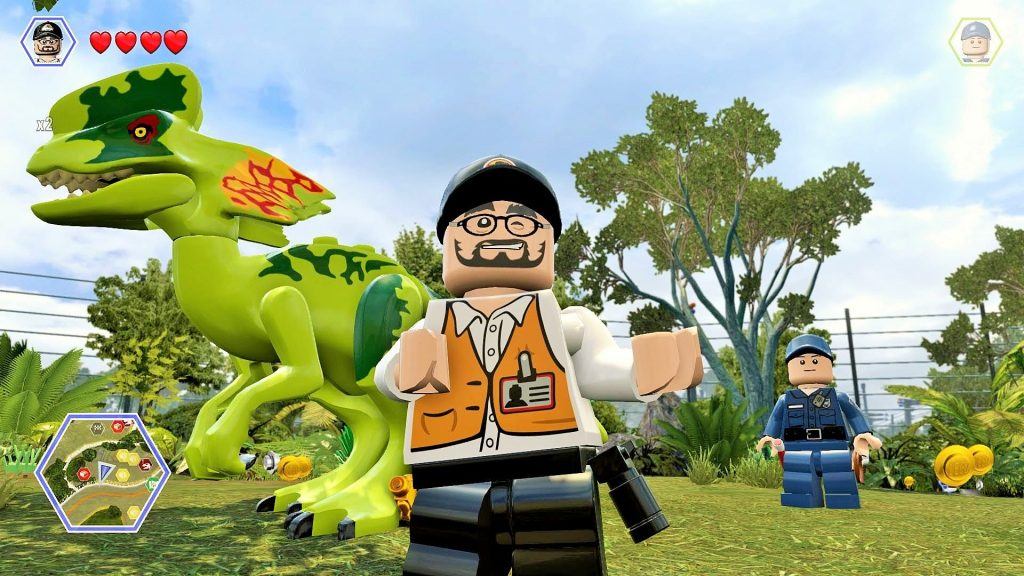 LEGO Jurassic World (2)