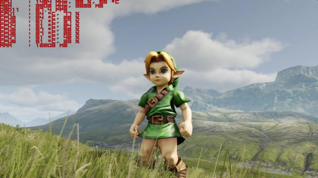 Legend of Zelda Ocarina of time 1 2