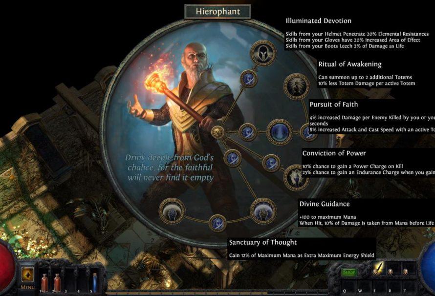 O… ιεροφάντης έρχεται στο Path of Exile