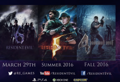 Βίντεο κυκλοφορίας για Resident Evil 4, 5, 6
