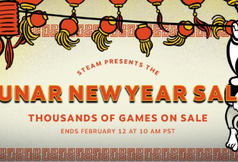 Steam εκπτώσεις για το (κινεζικό) νέο έτος!