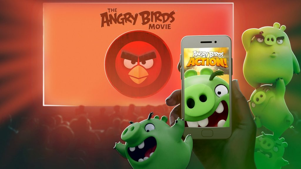 Angry Birds Action 1 (Large)