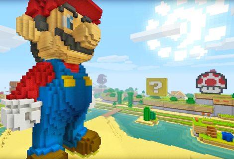 O Super Mario έρχεται στο Minecraft Wii U Edition!