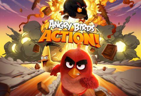 """Στο Angry Birds Action! τα """"θυμωμένα πουλιά"""" γίνονται... pinball!"""