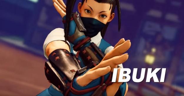 Ibuki, η νέα ηρωίδα του Street Fighter V Ibuki-625x327