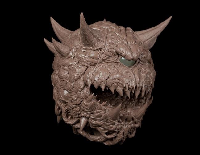 Φωτιστικό Cacodemon από το Doom που τα «σπάει»! Cacodemon-1-1