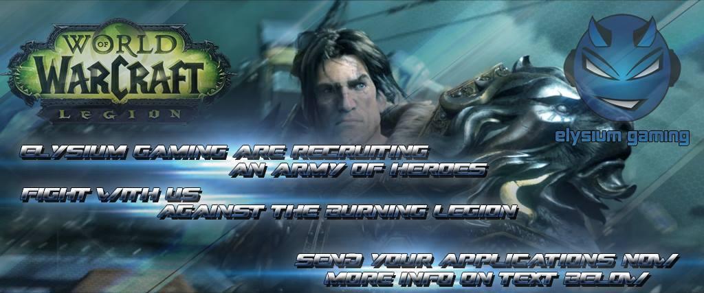 Η Elysium Gaming ετοιμάζεται για το WoW: Legion! Elysium-Gaming-2