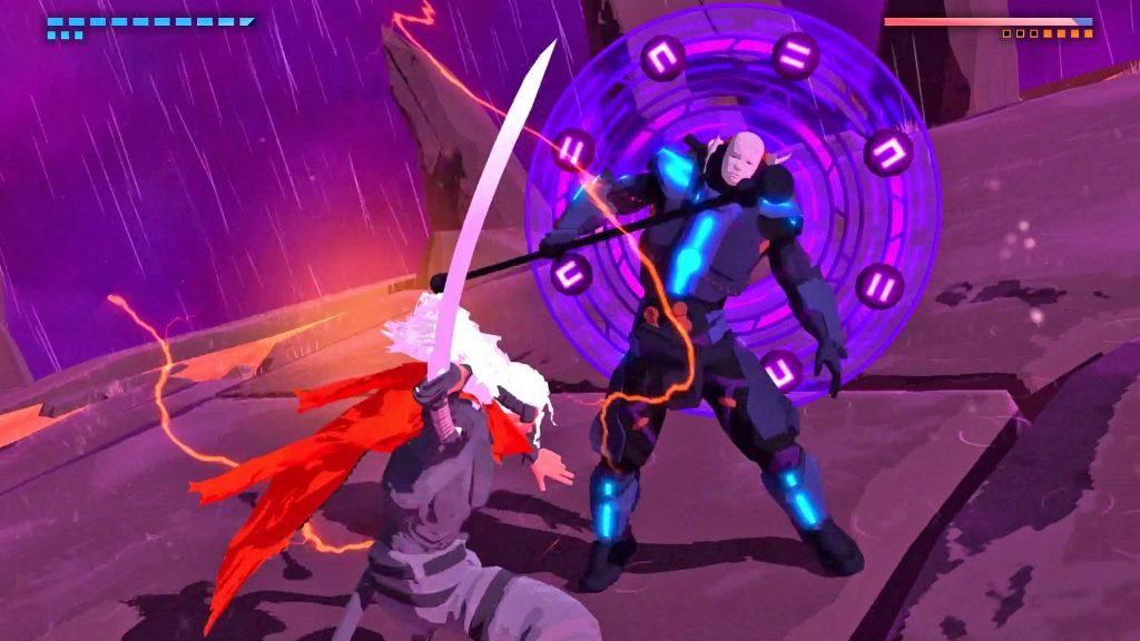 Furi, ένα εναλλακτικό action game αποκλειστικά με boss fights! Furi-2-1024x576