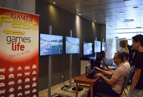 Μοναδικά στιγμιότυπα από το πρώτο GamesFest: Play & Share Tournament!