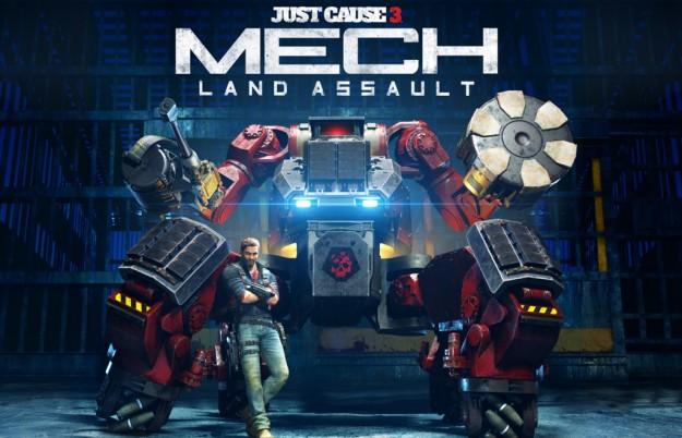 3 Ιουνίου το Mech Land Assault του Just Cause 3 Mech-Land-Assault-625x402
