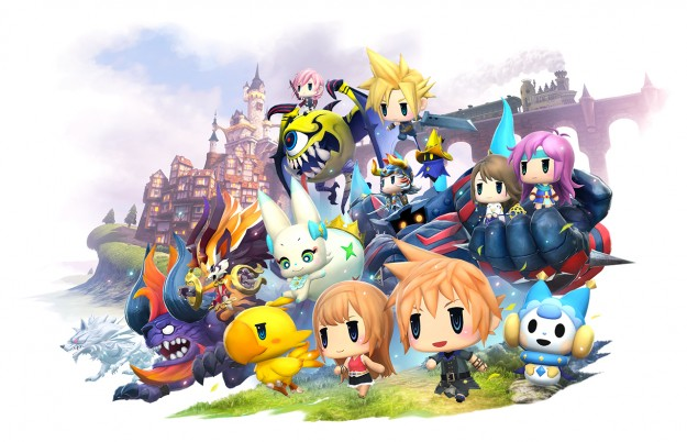 Νοσταλγικά ταξίδια με το World of Final Fantasy! World-of-Final-Fantasy-1-625x402