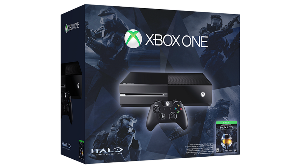 Xbox One console Halo the Master Chief Collection