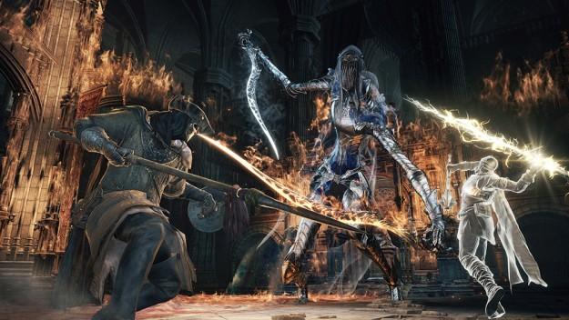 Τερμάτισε το Dark Souls 3 παίζοντας μόνο με τα πόδια του Dark-souls-3-625x352