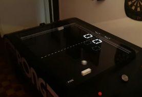 Επιτραπέζιο Pong, playable από 2 παίκτες, με φυσικά controls