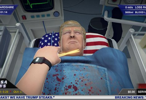 Surgeon Simulator DLC: εγχείρηση στον Ντόναλντ Τραμπ