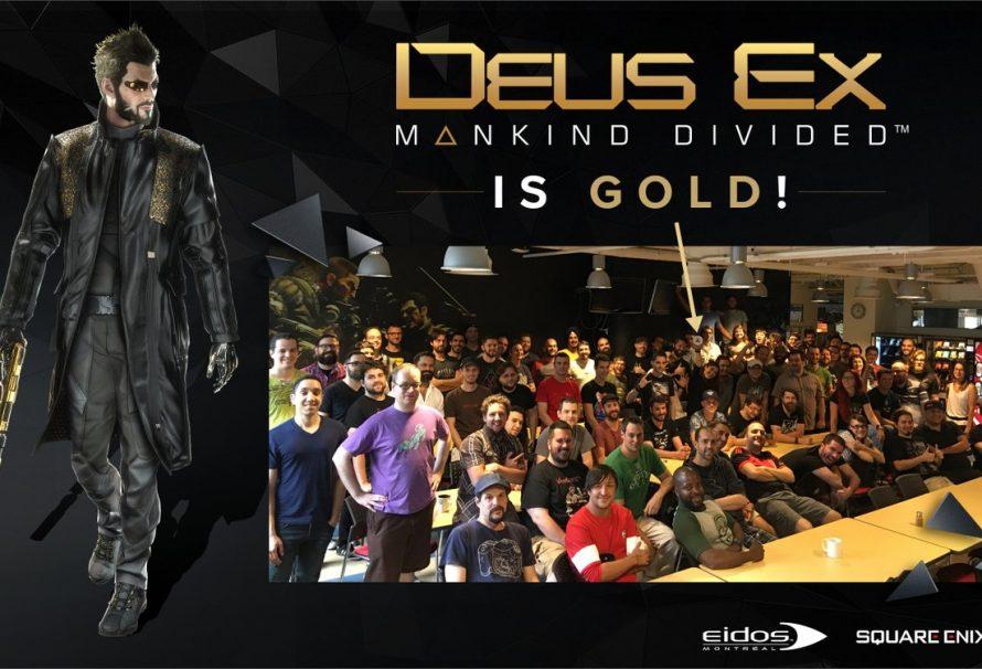 Gold το Deus Ex: Mankind Divided!