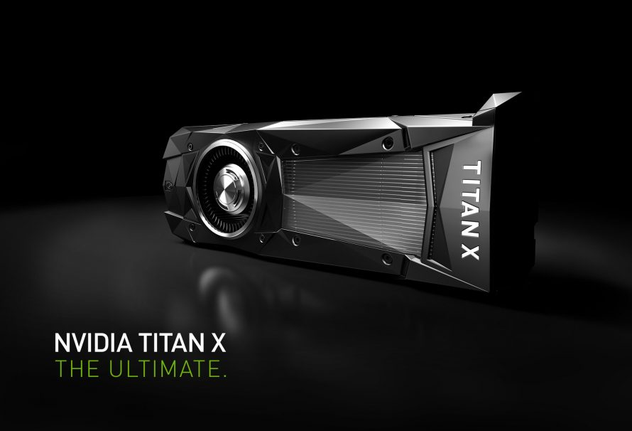 H Nvidia ανακοινώνει τη νέα Titan X GPU και το «τερματίζει»!