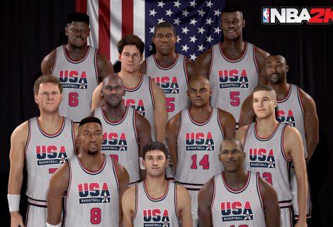 H Dream Team στο επίκεντρο του νέου trailer του NBA 2K17!