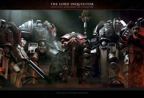 Δείτε το απίθανο animation Warhammer 40K: The Lord Inquisitor!