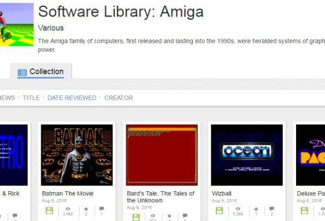 Το archive.org ανοίγει 10.000 παιχνίδια για Amiga!