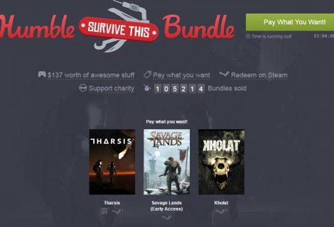 Πακέτο επιβίωσης στο Humble Bundle με 1 EUR!