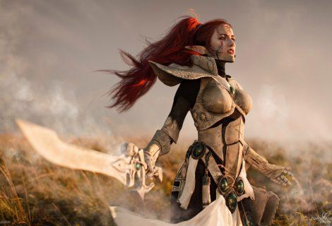 Επικό Eldar cosplay από το Warhammer 40K!
