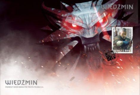 Ο Geralt από το The Witcher γίνεται... γραμματόσημο!