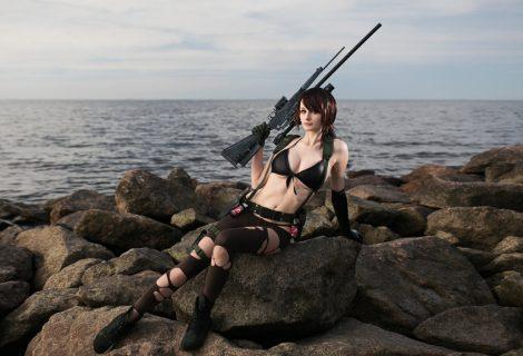 Απίστευτα sexy cosplay της Quiet και… όποιος αντέξει!