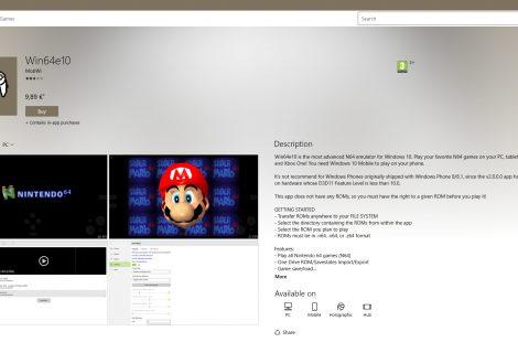 Ο N64 emulator που «εξαφάνισε» η Microsoft από το XboxOne