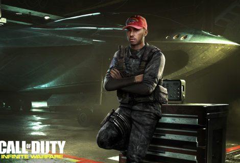 O πρωταθλητής της F1 Lewis Hamilton στο cast του CoD: Infinite Warfare!