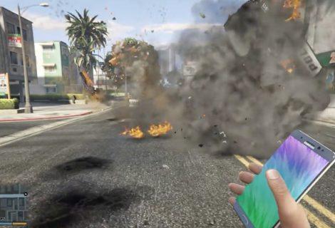 ΕΛΕΟΣ! H Samsung υποχρεώνει το YouTube να κατεβάσει το GTA V video με τα εκρηκτικά Note 7!