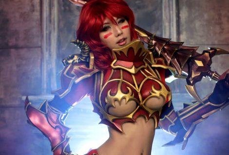 To τουμπανάκι Tasha σε cosplay σκέτη… αμαρτία!