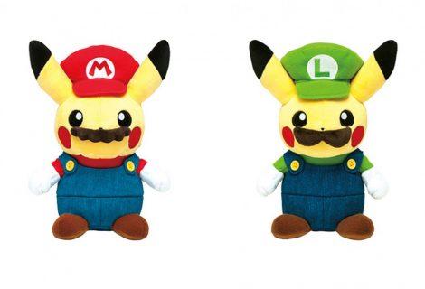 O Mario Pikachu είναι το πιο «περίεργο» λούτρινο... ever!
