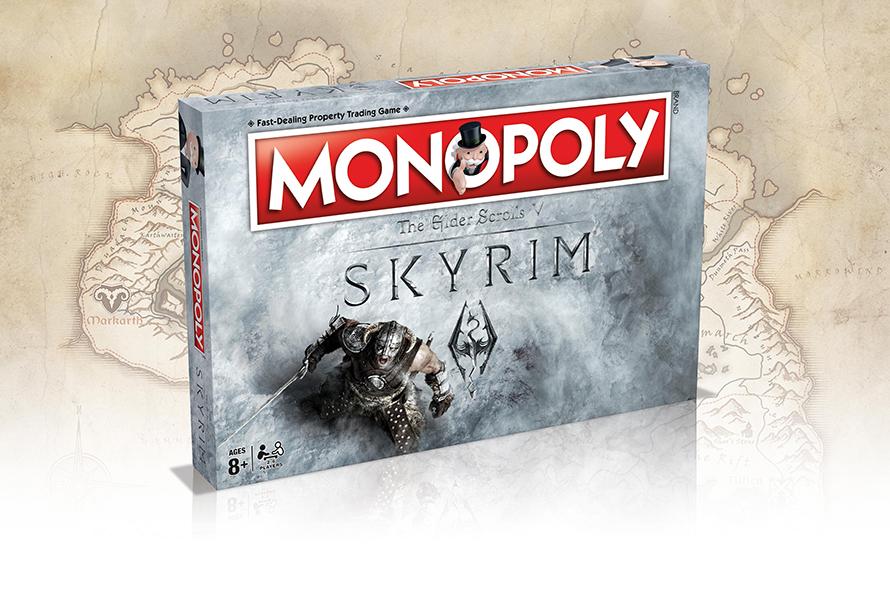 Θεματική Monopoly-Skyrim τον Μάρτιο του 2017 Skyrim-monopoly