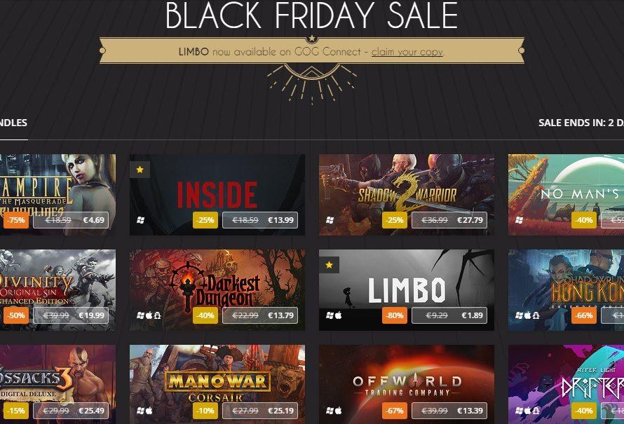 """Super """"Black Friday"""" deals από το GOG.com!"""