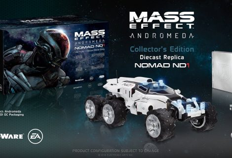 Epic collector's του Mass Effect Andromeda με δωράκι… όχημα Nomad!