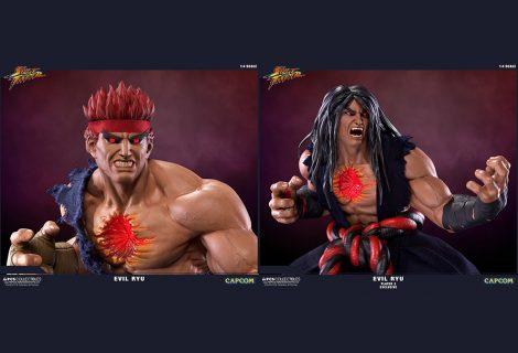 Δύο νέα φοβερά αγαλματίδια του «no more nice guy» Ryu