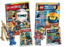 Περιοδικά LEGO με δώρο συλλεκτικές φιγούρες!
