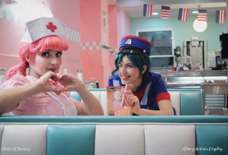 Νοσοκόμα Joy και Officer Jenny cosplay από τον κόσμο του Pokemon!