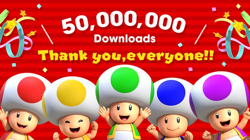 """""""Τρένο"""" το Super Mario Run σπάει το φράγμα των 50 εκατ. downloads!"""