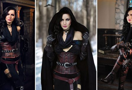 Yennefer cosplay από το Witcher 3, που είναι όλα τα λεφτά!