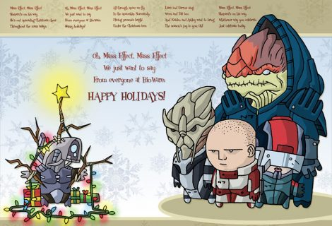 Οι Χριστουγεννιάτικες κάρτες των εταιρειών gaming