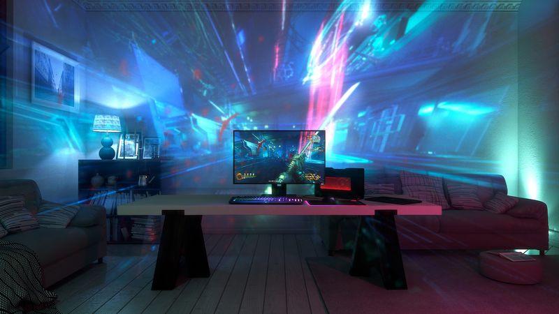 Η Razer φτιάχνει «gaming ατμόσφαιρα» με το Project Ariana! Project_Ariana___Room_View_2